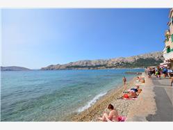 Palada Baska - ostrov Krk Plaža