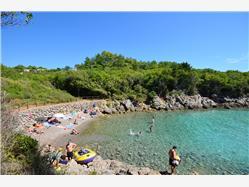 Redagara Punat - wyspa Krk Plaža