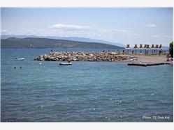 Ježevac Cres - ostrov Cres Plaža