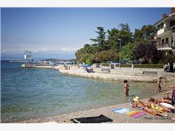 Rupa Njivice - ostrov Krk Plaža