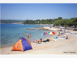 Rova Malinska - island Krk Plaža