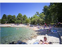 Vrtača Malinska - island Krk Plaža