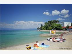 Maestral Njivice - ostrov Krk Plaža