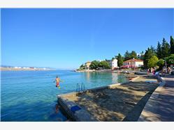 Dubec Omisalj - wyspa Krk Plaža