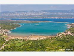 Meline Dobrinj - ön Krk Plaža