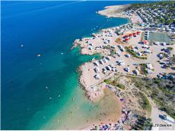 Tiha Soline - otok Krk Plaža