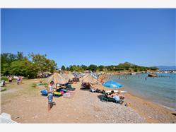 Sv. Marek Risika Dobrinj - ostrov Krk Plaža