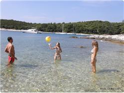Zabodarski Nerezine - ön Losinj Plaža