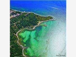 Babe Novalja - ön Pag Plaža