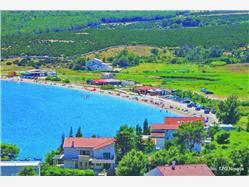 Caska Stara Novalja - ostrov Pag Plaža