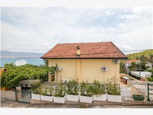 Ferienwohnungen Rose Slatine (Ciovo), Größe 65,00 m2, Luftlinie bis zum Meer 200 m