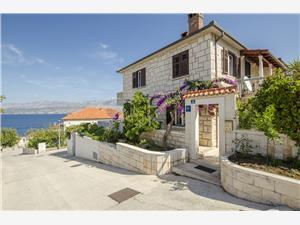 Ferienwohnungen Nada Postira - Insel Brac, Größe 55,00 m2, Luftlinie bis zum Meer 100 m, Entfernung vom Ortszentrum (Luftlinie) 300 m
