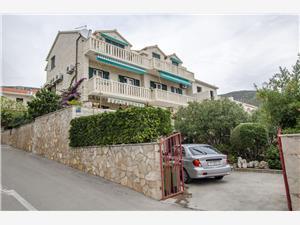Appartements Simon Bol - île de Brac, Superficie 50,00 m2, Distance (vol d'oiseau) jusque la mer 200 m, Distance (vol d'oiseau) jusqu'au centre ville 200 m
