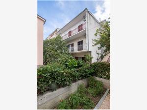 Appartementen Željko Makarska Riviera, Kwadratuur 100,00 m2, Lucht afstand naar het centrum 900 m