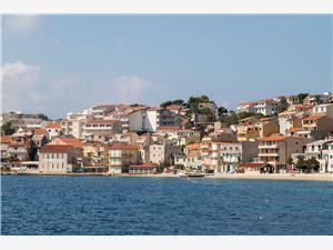 Appartementen Tolj Makarska Riviera, Kwadratuur 20,00 m2, Lucht afstand tot de zee 70 m, Lucht afstand naar het centrum 10 m