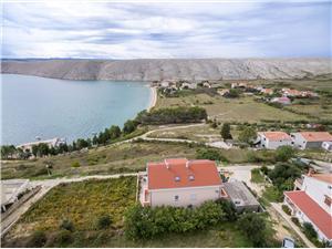 Apartmanok Anđelo Vlasici - Pag sziget, Méret 53,00 m2, Légvonalbeli távolság 200 m, Központtól való távolság 600 m