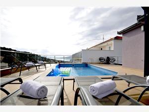 Accommodation with pool Marina Okrug Gornji (Ciovo),Book Accommodation with pool Marina From 410 €