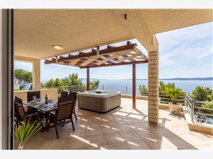 Appartement Paradise view Okrug Gornji (Ciovo), Kwadratuur 86,00 m2, Lucht afstand tot de zee 10 m