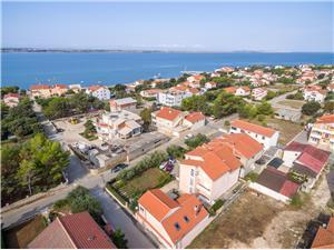 Ferienwohnungen Lenka Vrsi (Zadar), Größe 44,00 m2, Luftlinie bis zum Meer 200 m
