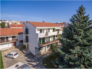 Lägenheter Davorka Zadar, Storlek 34,00 m2