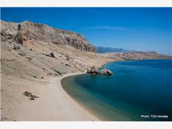 Beritnica Metajna - isola di Pag Plaža