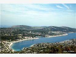 Uvala Žirje Kaprije - ostrov Kaprije Plaža