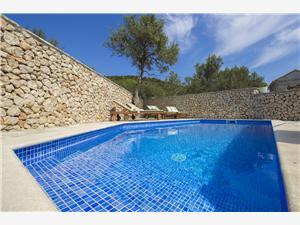 Willa Burica Vinisce, Powierzchnia 70,00 m2, Kwatery z basenem, Odległość od centrum miasta, przez powietrze jest mierzona 800 m