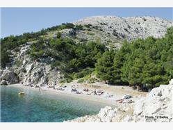 Jablanova Stara Baska - ön Krk Plaža