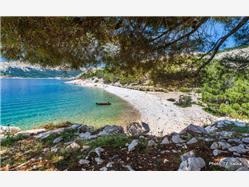 Vreženica Stara Baska - ön Krk Plaža