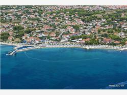 Jadro Dinjiska - ostrov Pag Plaža