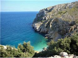 Mali Bok Martinscica - wyspa Cres Plaža