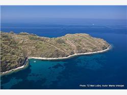 Baldrka Susak - ön Susak Plaža