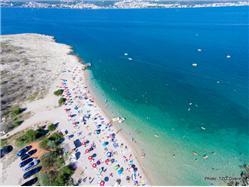 Konjska Dobrinj - ön Krk Plaža