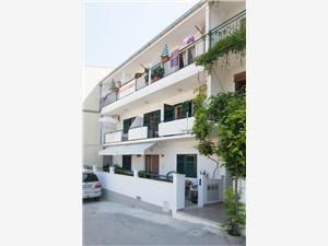 Appartementen Maja Podgora, Kwadratuur 22,00 m2, Lucht afstand naar het centrum 150 m