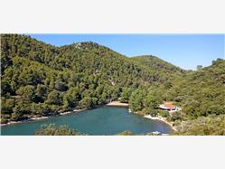 Istruga Brna - Korcula sziget Plaža