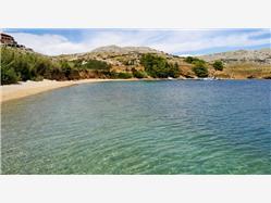 Smokvica Dinjiska - ostrov Pag Plaža