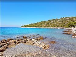 Koromašna Kaprije - Kaprije sziget Plaža