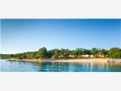 Njivice Soline - ostrov Krk Plaža