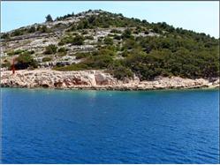 Punta Zaboric (Sibenik) Plaža