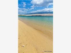Sveti Duh Novalja - island Pag Plaža