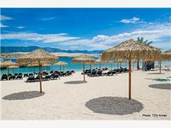 Katarelac Mandre - ostrov Pag Plaža