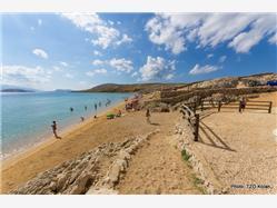 Čista Mandre - ön Pag Plaža