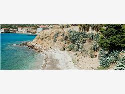 Vartalac Marinje Zemlje - ostrov Vis Plaža