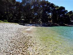 Zlatna uvala Susak - ön Susak Plaža