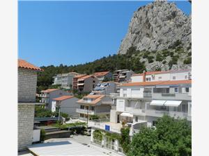 Appartements et Chambre Mirjana Omis, Superficie 13,00 m2, Distance (vol d'oiseau) jusqu'au centre ville 550 m