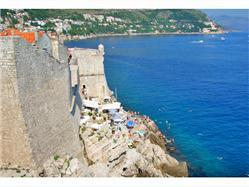 Buža Mlini (Dubrovnik) Plaža