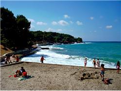 Valkane Puntizela (Pula) Plaža