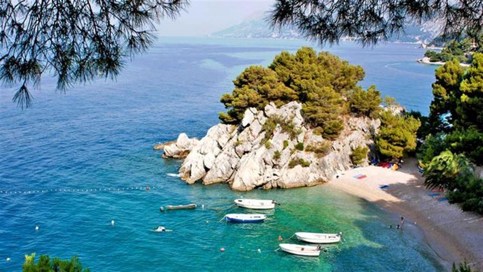 Punta-Rata-Brela-Dalmatia-Croatia