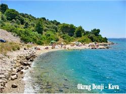Okrug Okrug Gornji (Ciovo) Plaža