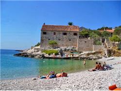 Dubovica Zarace - île de Hvar Plaža